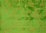 Designers Guild emerald velvet fabric